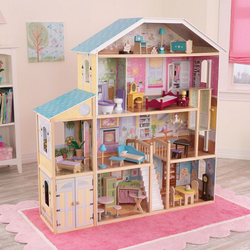 wooden dollhouse furniture for toddlers