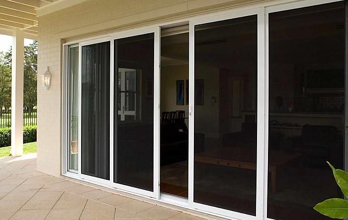 Front Door Security Screens (2)