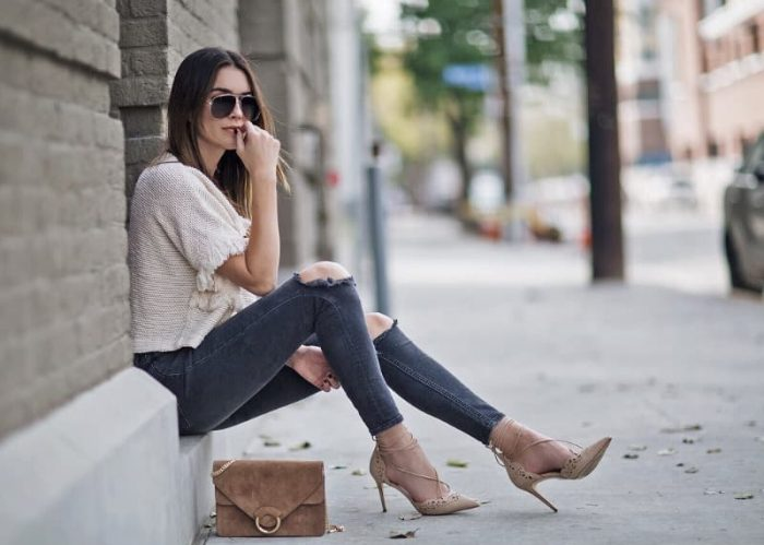 Work Heels With Strap