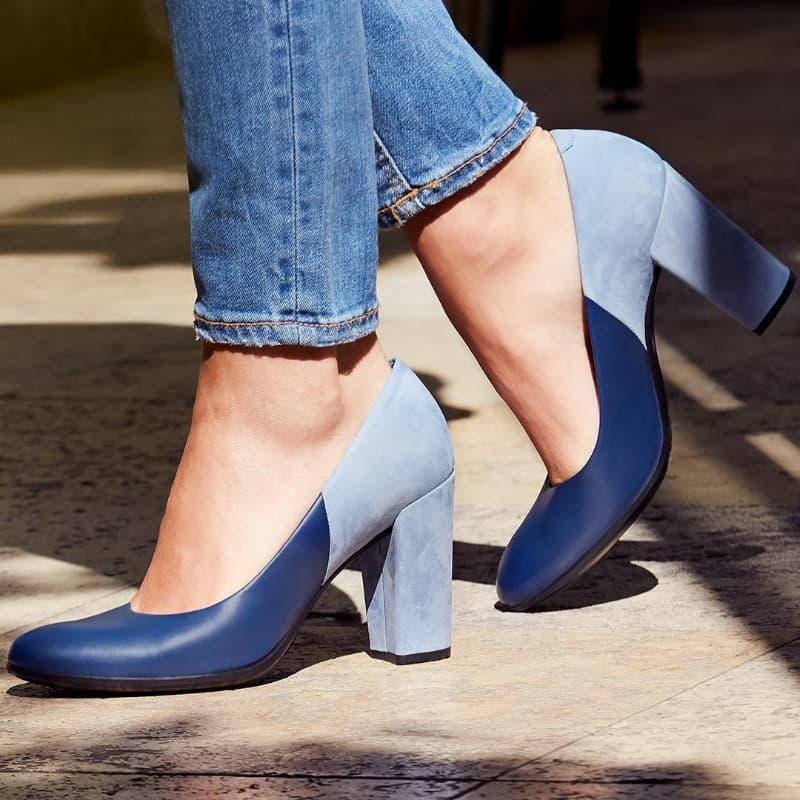 wearing formal high heels
