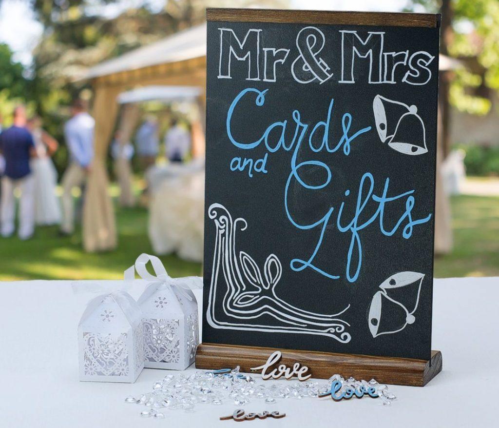 wedding chalkboards