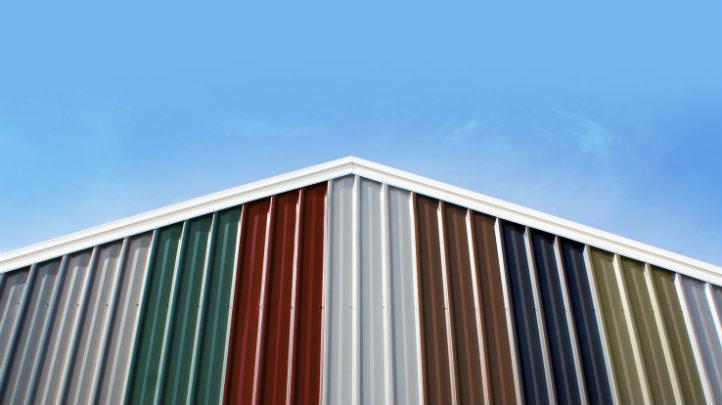 Colorbond sheds