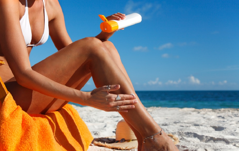 oxybenzone free sunscreen