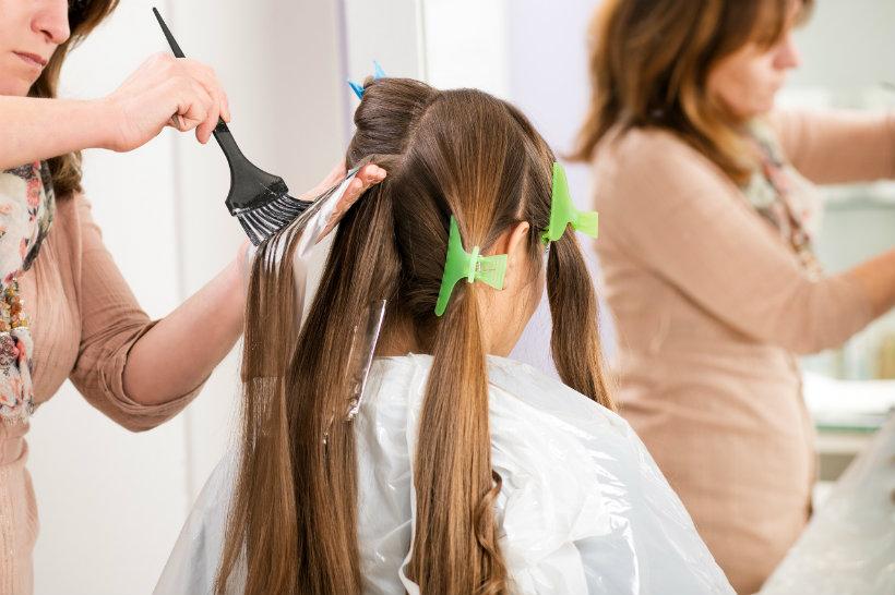 making new Hair Colour