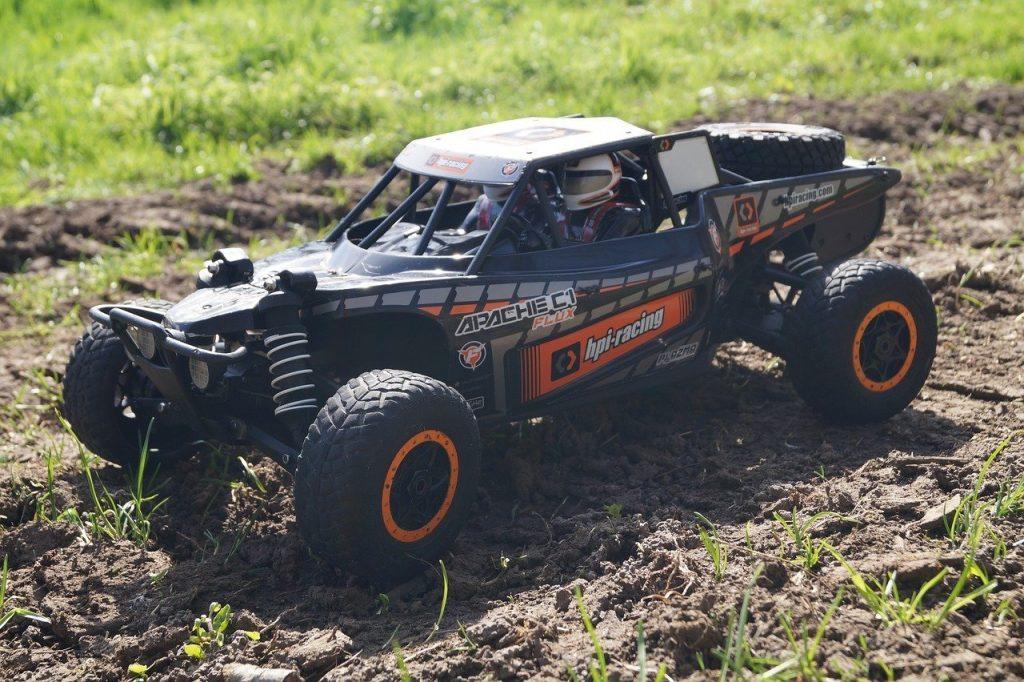 rc terrain car outdoor