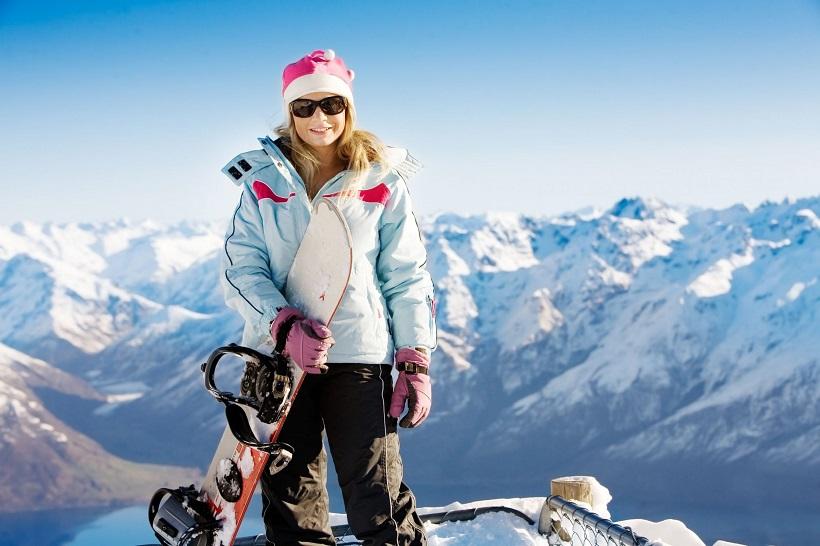 Ladies snowboard jacket