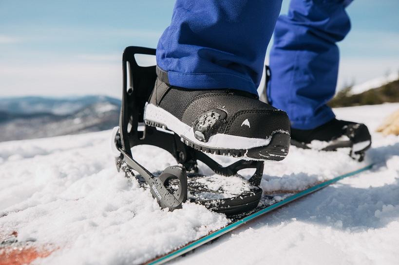 Step on snowboard bindings