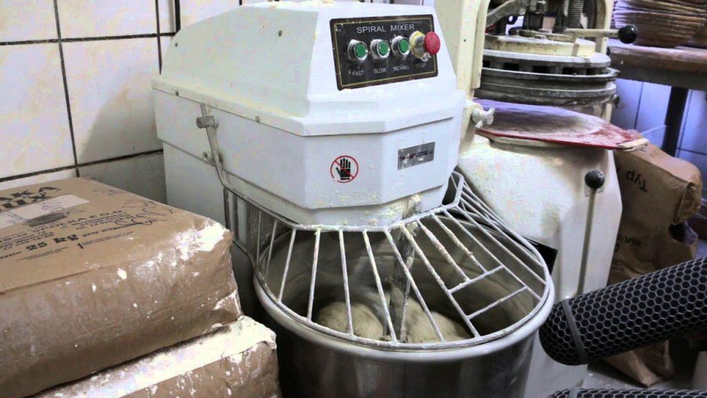 dough spiral mixer bakery