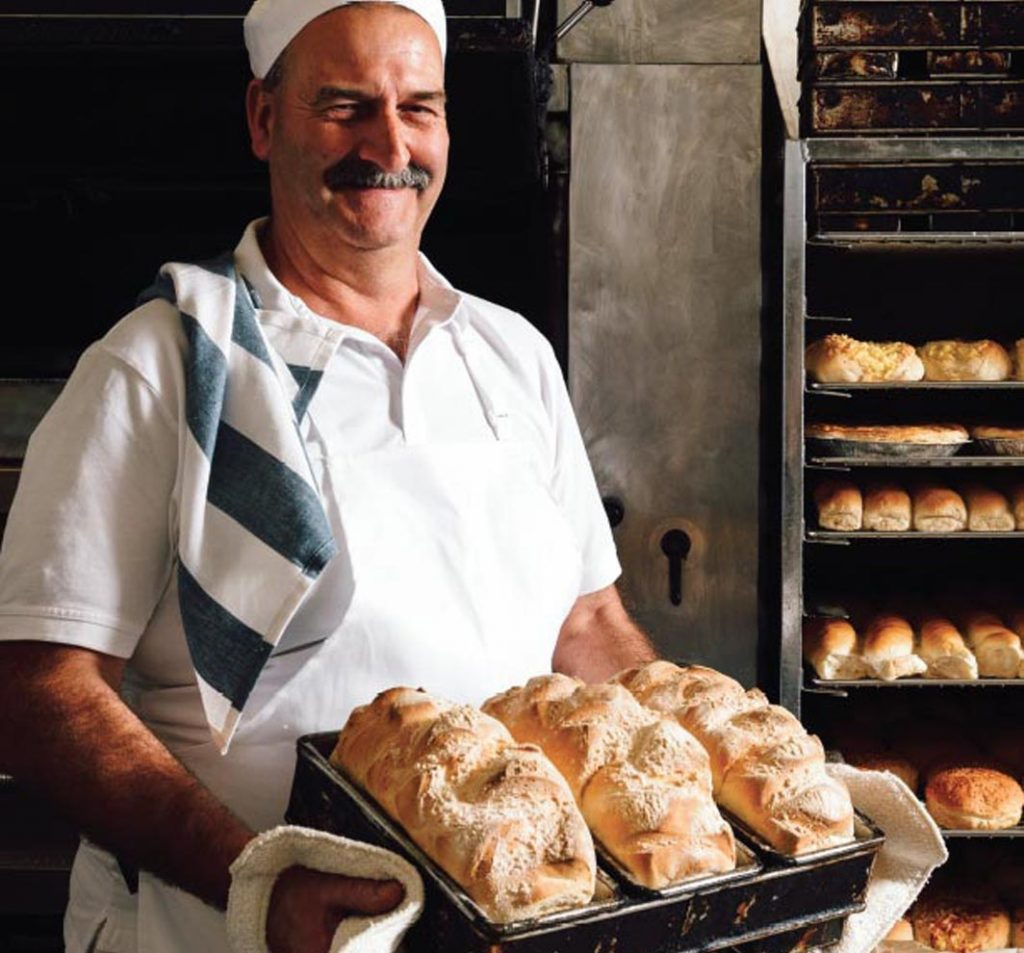 fleshly baked bread bakery