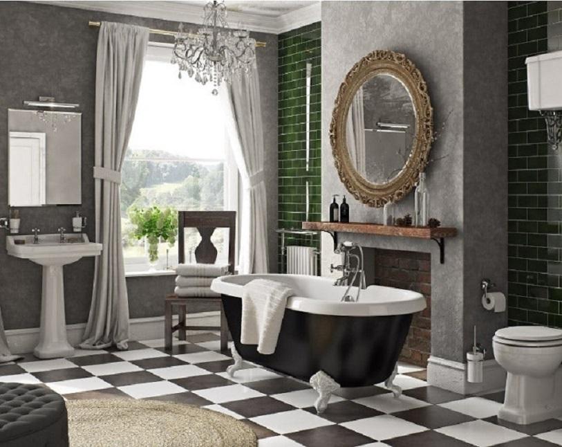 Cast Iron Bathtubs in victorian style bath