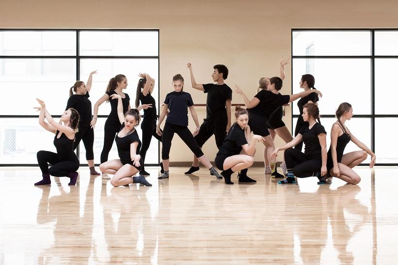 Dancers in versatile pants