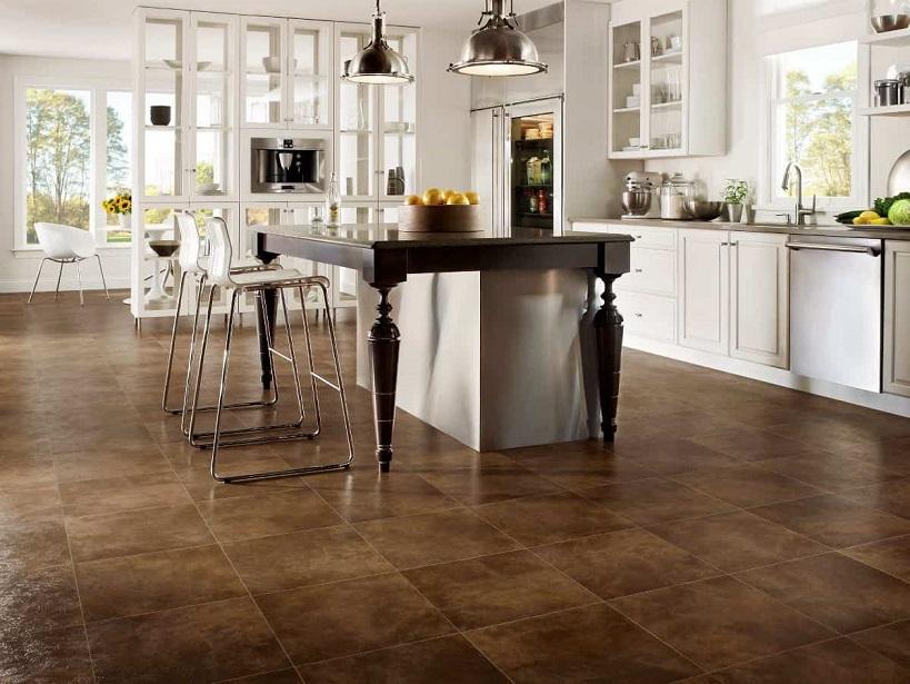 vinyl tile for kitchen floor